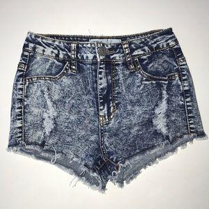 RSQ Maui High Rise Jean Short Size 0
